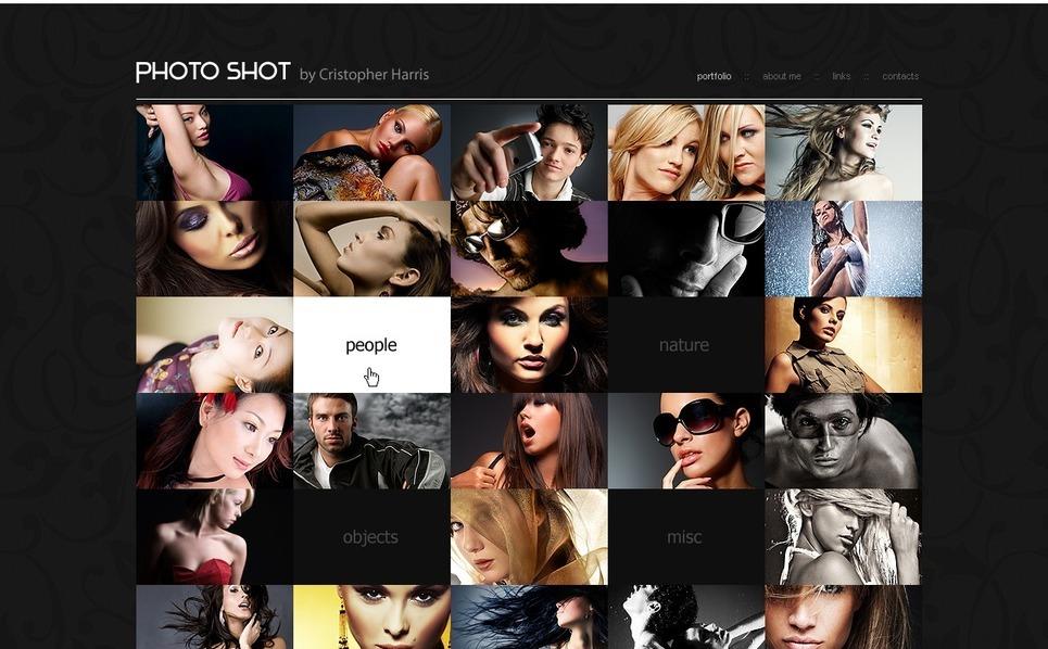 摄影师组合PSD模板 New Screenshots BIG