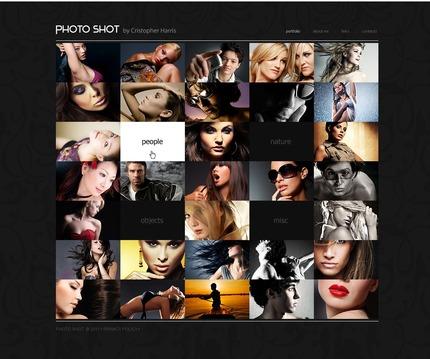 PSD макет сайта №56308