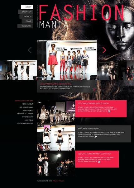 PSD макет сайта №56315