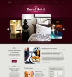 Hotels PSD  Template 56316