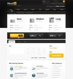 Web Hosting PSD  Template 56318