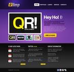 Web design PSD  Template 56328