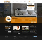 Hotels PSD  Template 56334