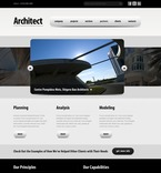 Architecture PSD  Template 56343