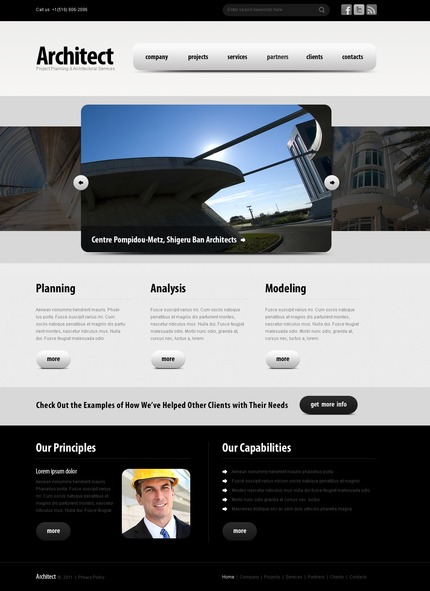Website Template #56343