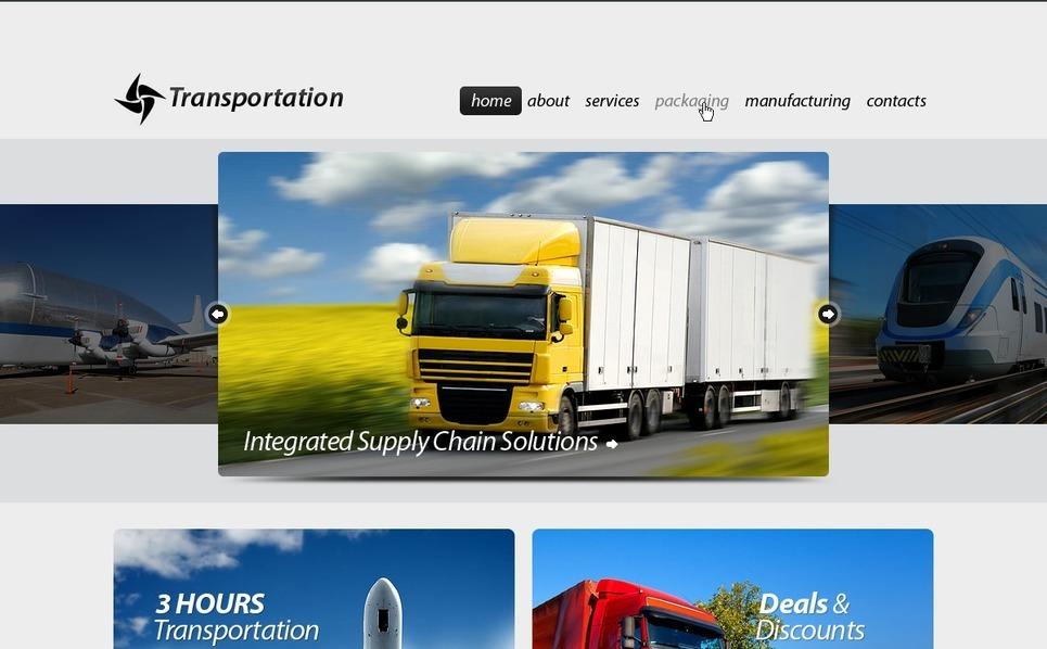 PSD Template over Vervoer New Screenshots BIG