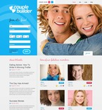 Dating PSD  Template 56351
