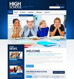 Education PSD  Template 56354