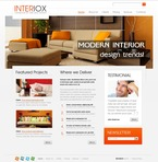 Furniture PSD  Template 56358