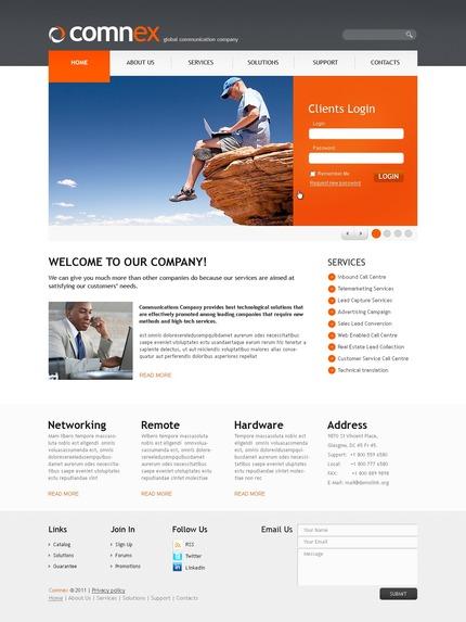 PSD макет сайта №56359