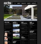 Architecture PSD  Template 56362