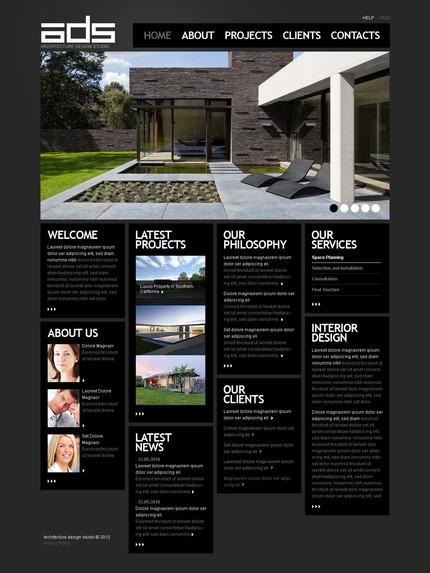 PSD макет сайта №56362