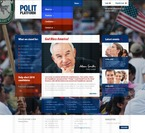 Politics PSD  Template 56366