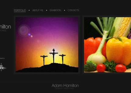 ADOBE Photoshop Template 56367 Home Page Screenshot