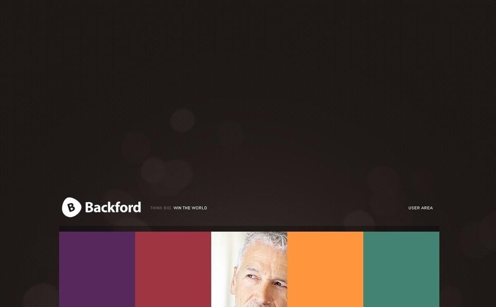 Template PSD  #56368 per Un Sito di Business e Servizi New Screenshots BIG