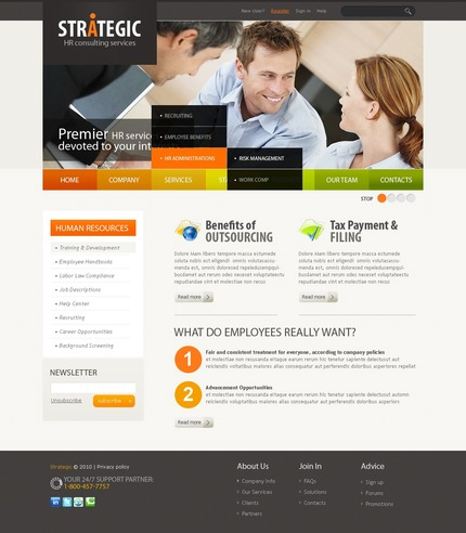 ADOBE Photoshop Template 56370 Home Page Screenshot