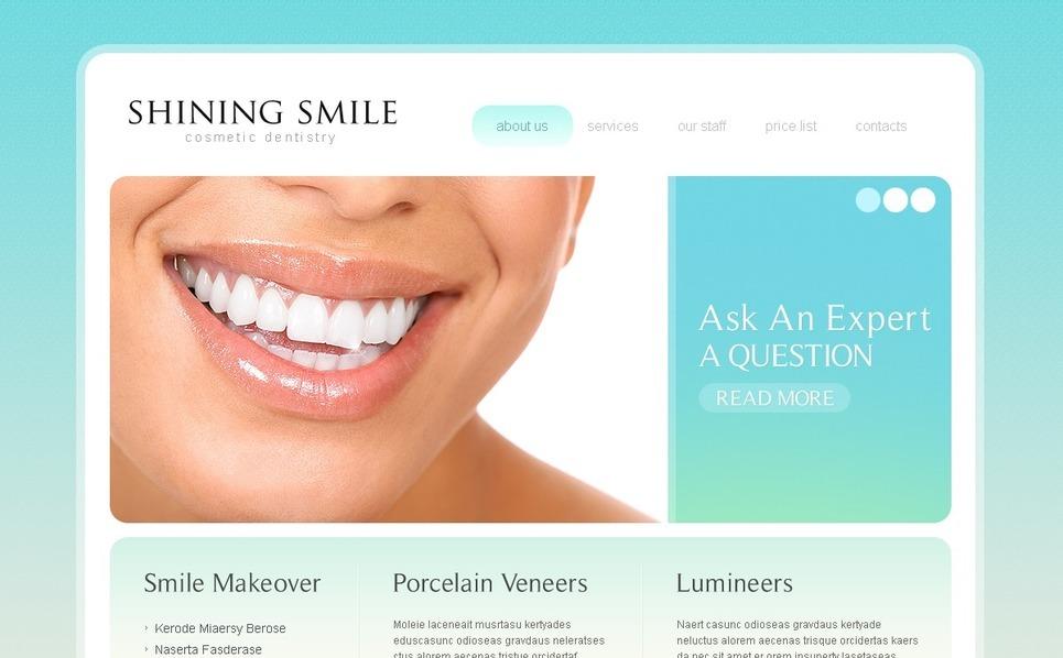 牙科医院网站PSD模板 New Screenshots BIG