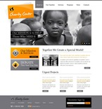 Charity PSD  Template 56386