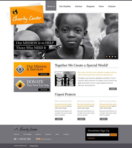 ADOBE Photoshop Template 56386 Home Page Screenshot