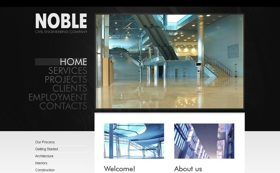 Szablon PSD #56387 na temat: biznes i usługi New Screenshots BIG