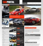 Cars PSD  Template 56396