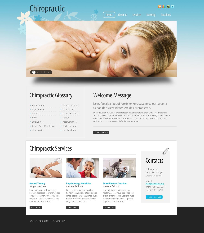 Massage Salon PSD Template