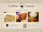 Cafe & Restaurant PSD  Template 56403