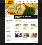 Food & Drink PSD  Template 56405