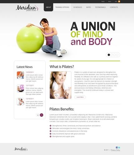 PSD макет сайта №56410