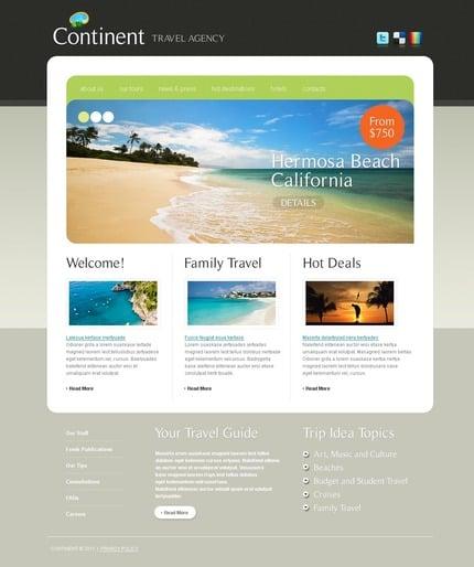 ADOBE Photoshop Template 56415 Home Page Screenshot
