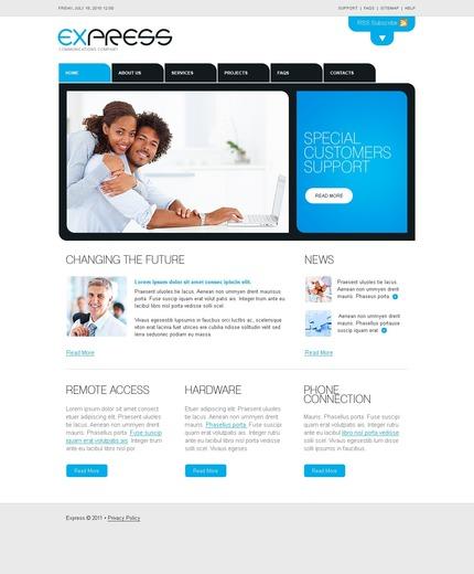 PSD макет сайта №56424