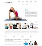 Sport PSD  Template 56425