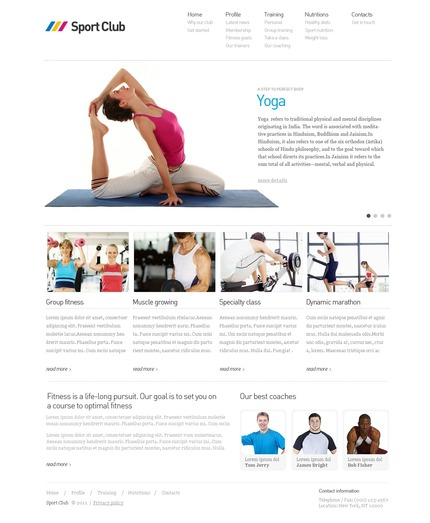PSD макет сайта №56425