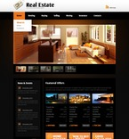 Real Estate PSD  Template 56428