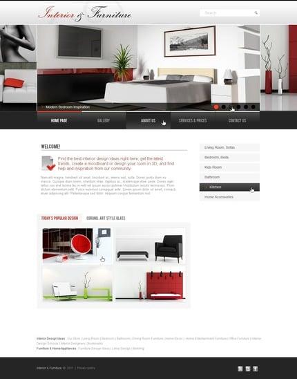 PSD макет сайта №56434