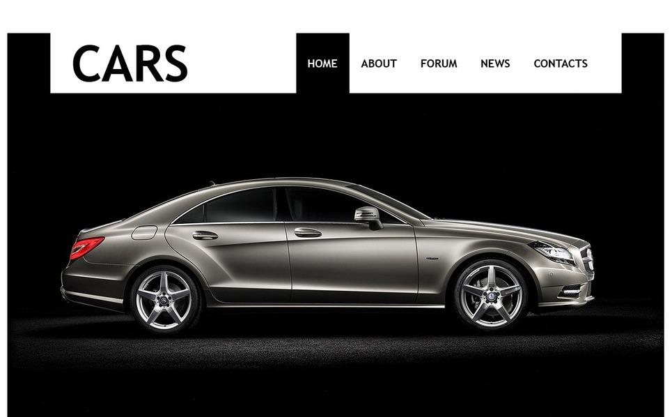 Template Photoshop  para Sites de Clube de Carros №56450 New Screenshots BIG