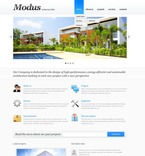 Architecture PSD  Template 56458