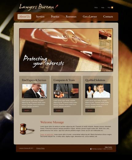PSD макет сайта №56476