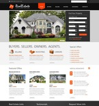 Real Estate PSD  Template 56479