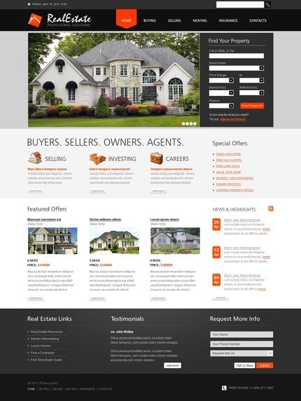 PSD макет сайта №56479