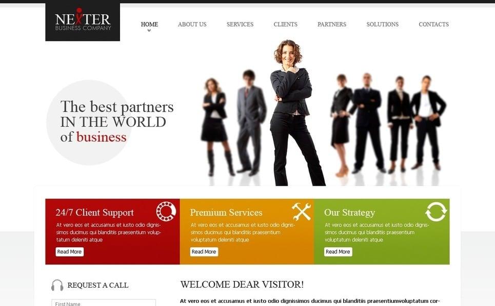 Tema PSD  #56481 per Un Sito di Business e Servizi New Screenshots BIG