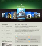 Real Estate PSD  Template 56488