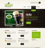 Web design PSD  Template 56494