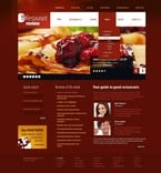 Cafe & Restaurant PSD  Template 56498