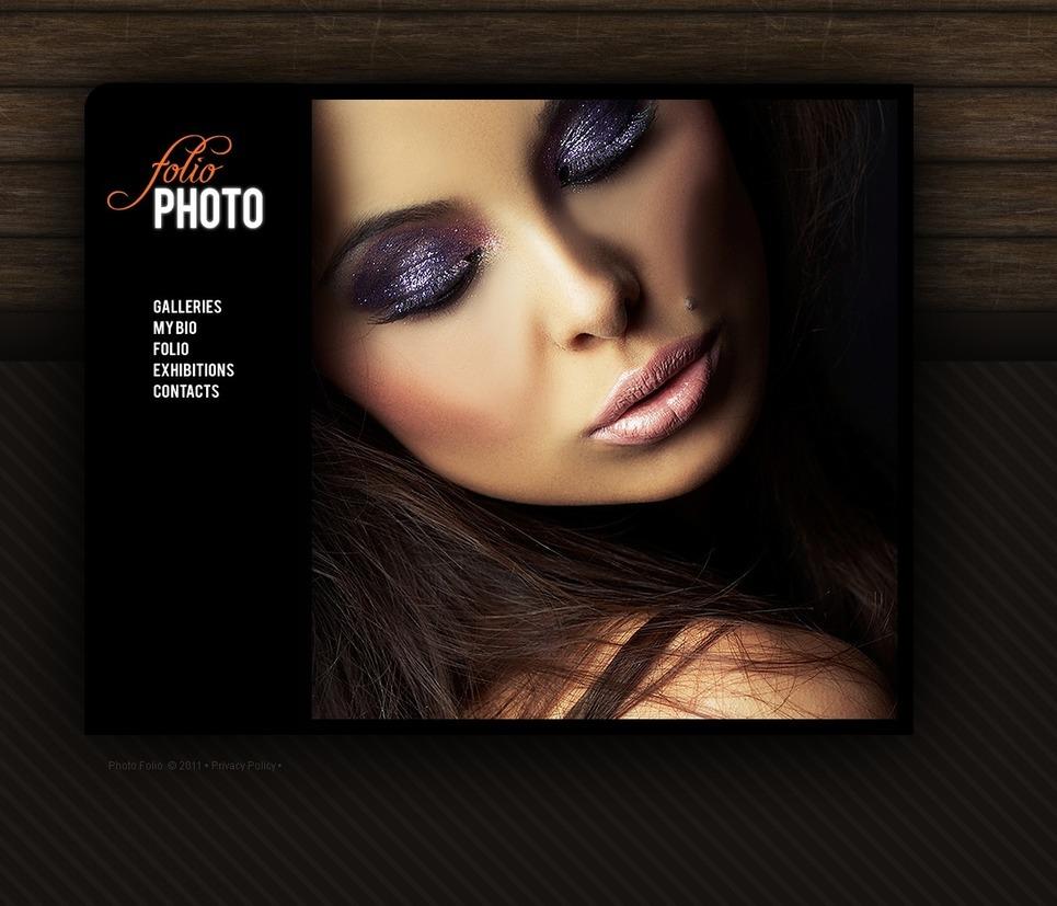 Photographer Portfolio PSD Template New Screenshots BIG
