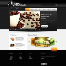 Video Gallery PSD Templates