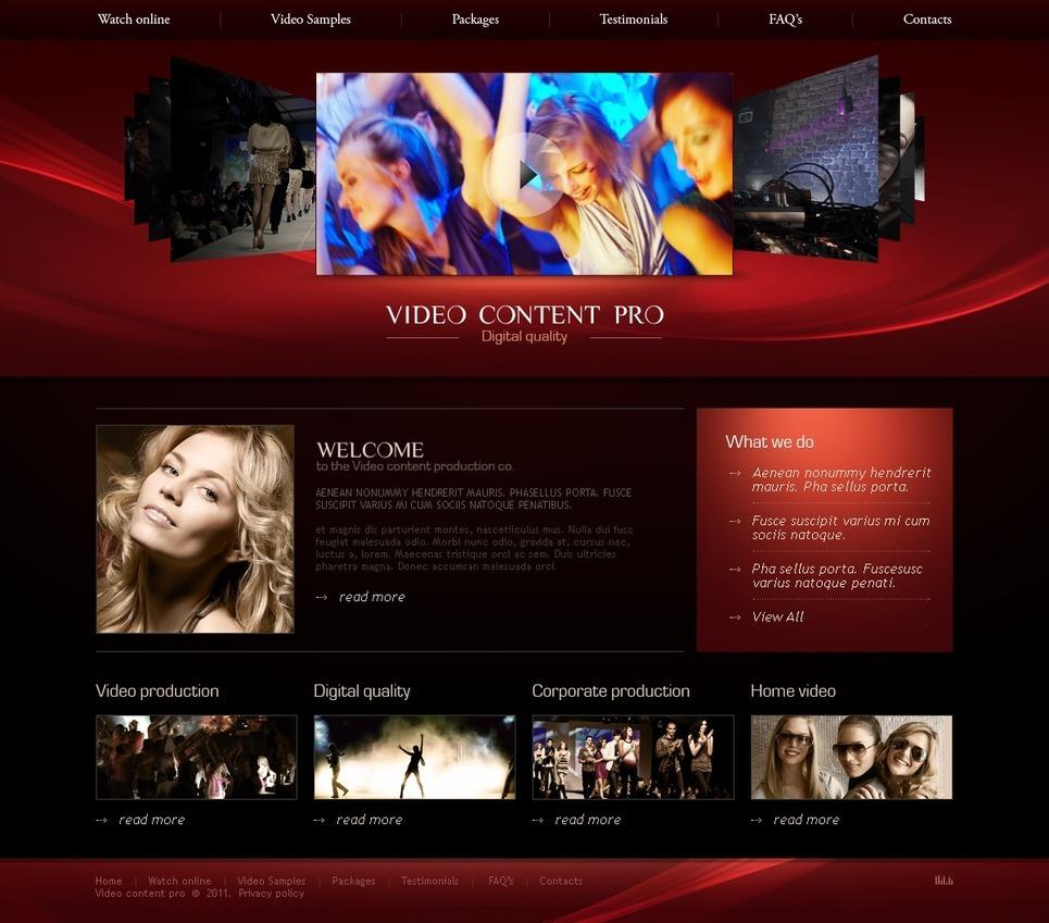 Video Lab PSD Template New Screenshots BIG