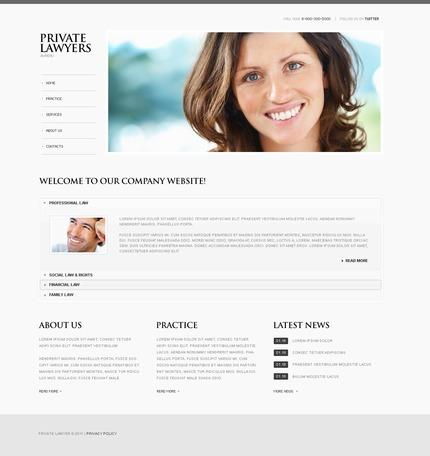 PSD макет сайта №56502