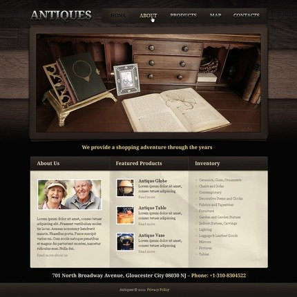 ADOBE Photoshop Template 56513 Home Page Screenshot