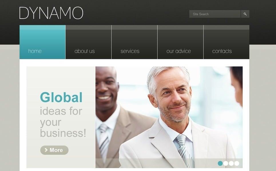 PSD шаблон №56515 на тему Бизнес и услуги New Screenshots BIG